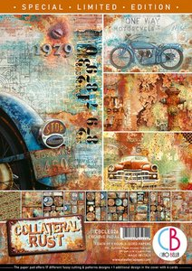 Creative Pad A4 Ciao Bella Collateral Rust Limited Edition