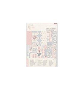 Kit A4 de papeles y adornos Moroccan Haze