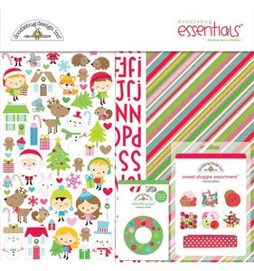 Kit Essentials Christmas Town Doodlebug