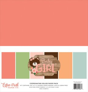 Kit Baby Girl Solids