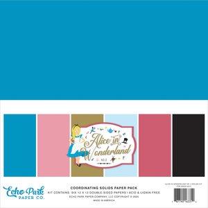 Kit Básicos Echo Park Alice in Wonderland v2