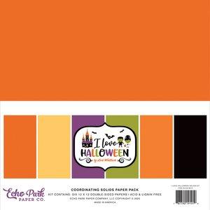 Kit Básicos Echo Park I Love Halloween