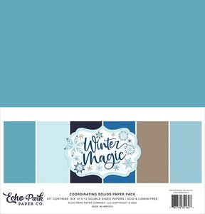 Kit Echo Park Winter Magic Solids