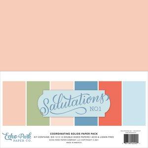 Kit Echo Park Salutations No 1 Solids