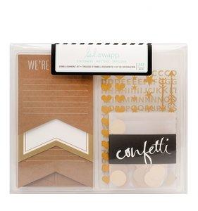 Kit de adornos Gold