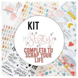 Kit My Story Completa tu Scrap your life
