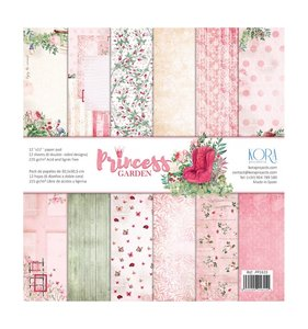Kit de papeles Princess Garden