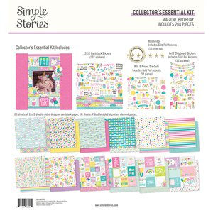 Kit Simple Stories Collectors Essential Magical Birthday