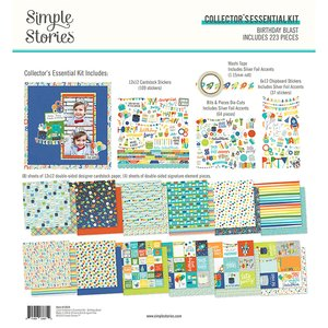 Kit Simple Stories Collectors Essential Birthday Blast
