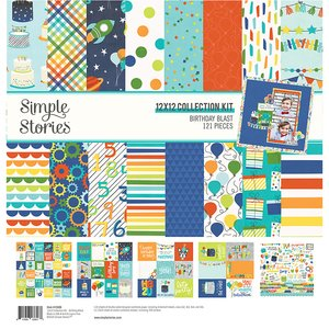 Kit Simple Stories Birthday Blast