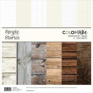 Kit de papeles Color Vibe Woods