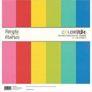 Kit de papeles Color Vibe Summer