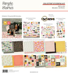 Kit Simple Stories Collectors Essential Kate & Ash