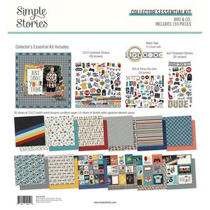 Kit Simple Stories Collectors Essential Bro & Co