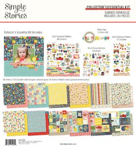 Kit Simple Stories Collectors Essential Summer Farmhouse