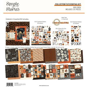 Kit Simple Stories Collectors Essential Boo Crew