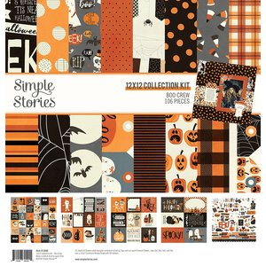 Kit Simple Stories Boo Crew