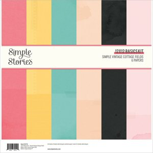 Kit Basics Simple Stories SV Cottage Fields