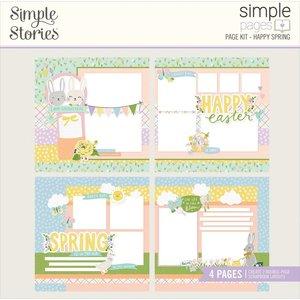 Kit Simple Pages Simple Stories Bunnies y Blooms