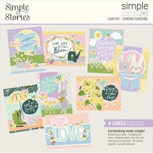 Kit Cards Simple Stories Bunnies y Blooms