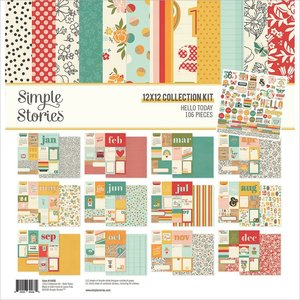Kit Simple Stories Hello Today