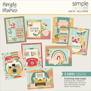 Kit Cards Simple Stories Hello Today