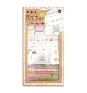 Kit complementos Bullet Journal Happy Days