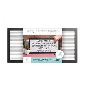 Letter Board 20x10 Black & White