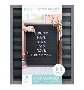Letter Board 16x20 Gray & Black