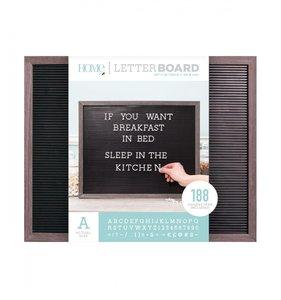 Letter Board 20x16 Gray & Black