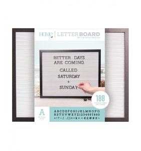Letter Board 20x16 Black & White