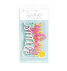 Set HAPPY Letter Board Words