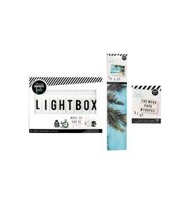 Kit Marquee Love Lightbox