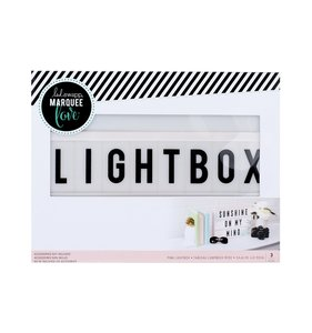 Marquee Love Lightbox Pink