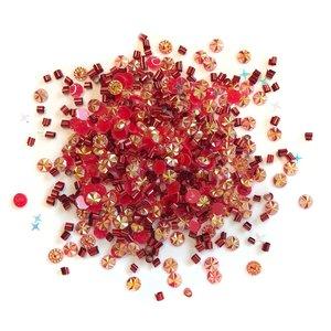 Cajita con gemas y confetti Doo Dazz Merry Mimosa