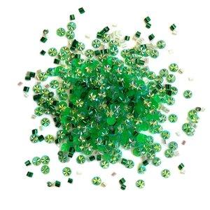 Cajita con gemas y confetti Doo Dazz Seasonal Pine