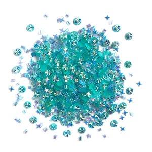 Cajita con gemas y confetti Doo Dazz Caribbean Sea