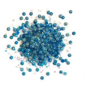Cajita con gemas y confetti Doo Dazz Ocean Breeze