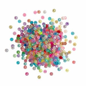 Cajita con gemas y confetti Doo Dazz Birthday Bling