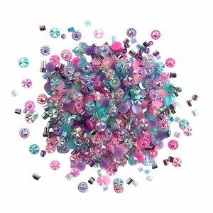 Cajita con gemas y confetti Doo Dazz Princess Sparkle