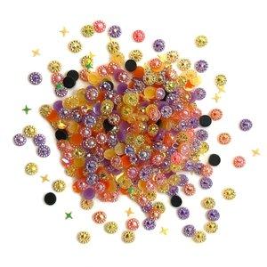 Cajita con gemas y confetti Doo Dazz Halloween Party