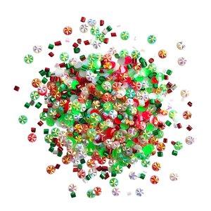 Cajita con gemas y confetti Doo Dazz Cool Yule