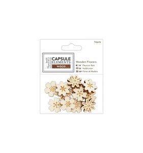 Florecitas de madera Capsule Elements Wood