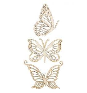 Maderitas KaiserCraft Flourishes Magical Butterflies
