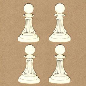 Siluetas Kora Projects Peones de ajedrez
