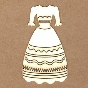 Siluetas Kora Projects Vestido de Niña
