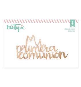 Maderita Mi primera comunión