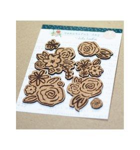 Formas de corcho Blooms
