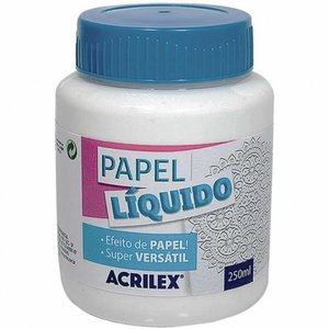 Papel líquido Acrilex 250 ml