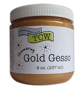 TCW Gold Gesso 8 oz